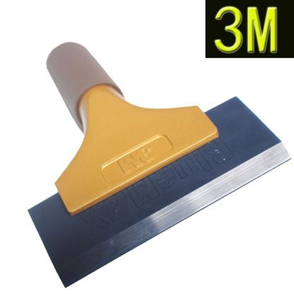 Rubber blade 3M gold handle scraper Water Squeegee Tint Tool for Car Auto