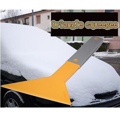 """Triangle Squeegee Wrap Glass 31cm Window Tint Tool 13"""" Long Bubble Car Vinyl"""
