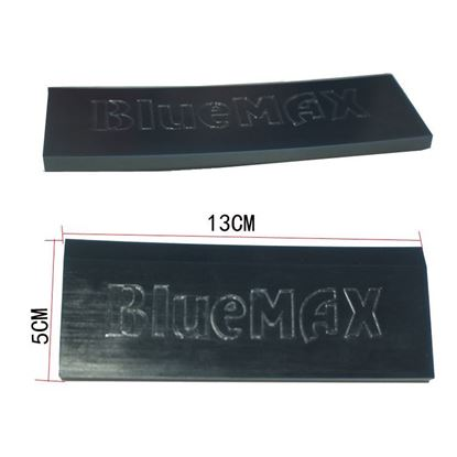 Picture of bluemax rubber squeegee spare blade 130x50x7mm type hq PU85 window film installing tool