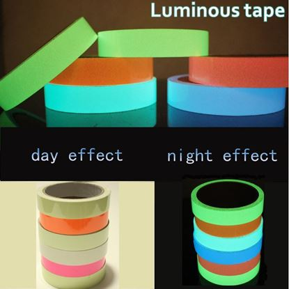 3M Luminous Tape Self-adhesive Tape Night Vision Glow In Dark Safety Warning Security Stage Home Decoration Tapes