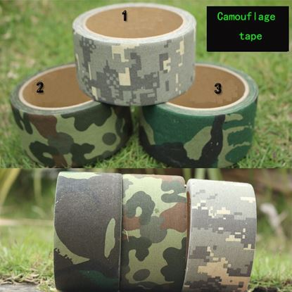 5M/10M Camo Wrap Outdoor Hunting Bionic Tape Waterproof ACU Camouflage Hunting Gun Accessories 3Colors